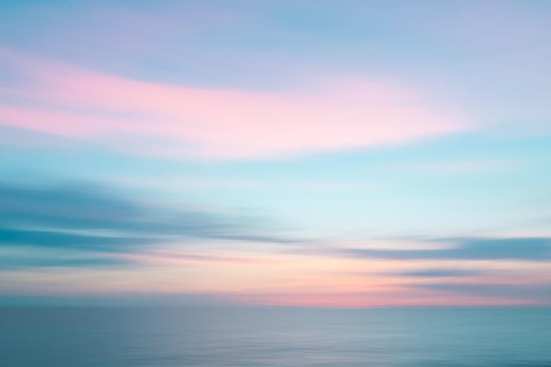 image de ciel coloré